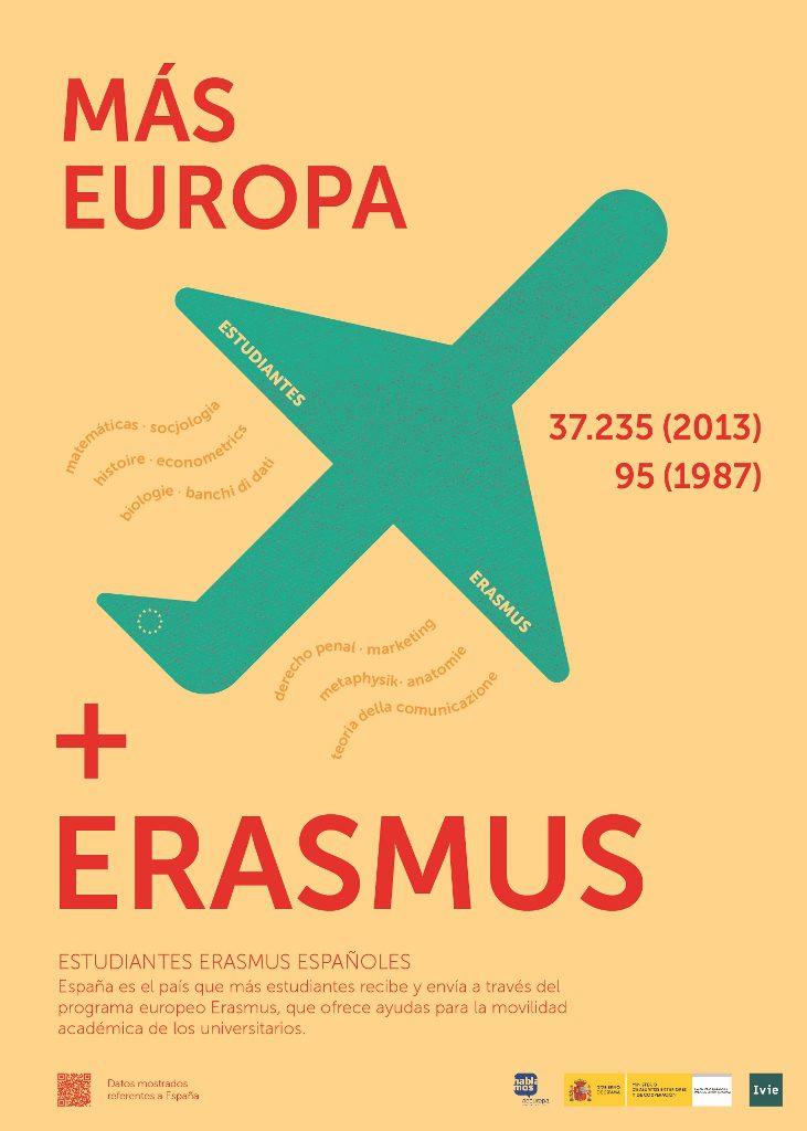 Más Europa, más Erasmus