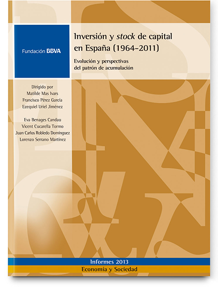 Investment and capital stock in Spain (1964-2011). Evolution and future accumulation patterns