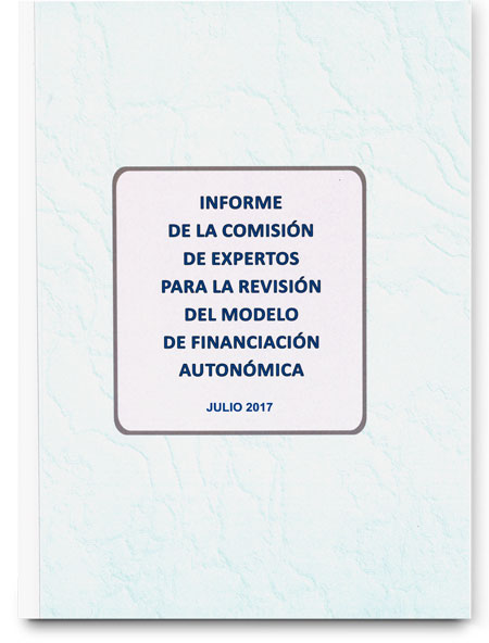 Report developed by the Committee of experts on Spanish regional funding