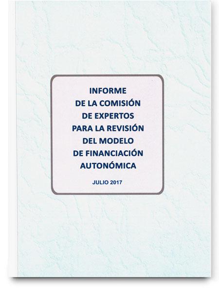 Informe de la Comisión de Expertos para la reforma del sistema de financiación autonómica