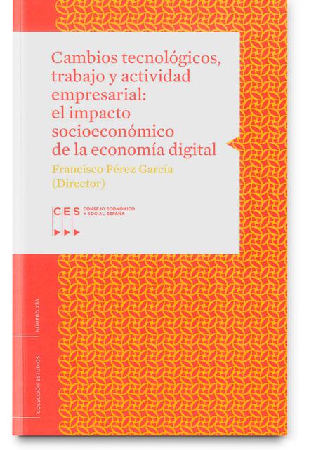 Cambios tecnológicos, trabajo y actividad empresarial: el impacto socioeconómico de la economía digital